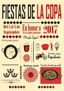 Cartel Fiestas de La Copa 2017